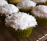 Naked Cupcakes  Coconut Lime Cupcakes w  Lime Buttercream