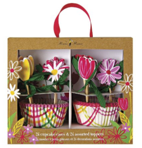 Amazon.com  Meri Meri 45 0957 Little Garden Cupcake Kit  Kitchen   Dining